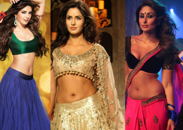 Bollywood Actresses Navel Show