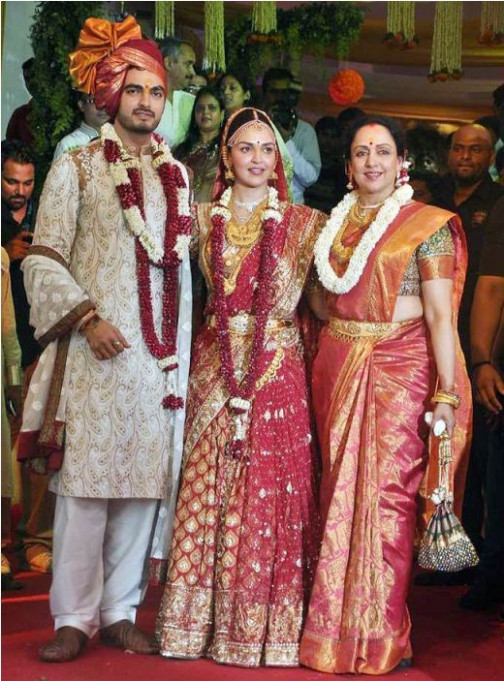 Bollywood Actresses on Their Wedding Day