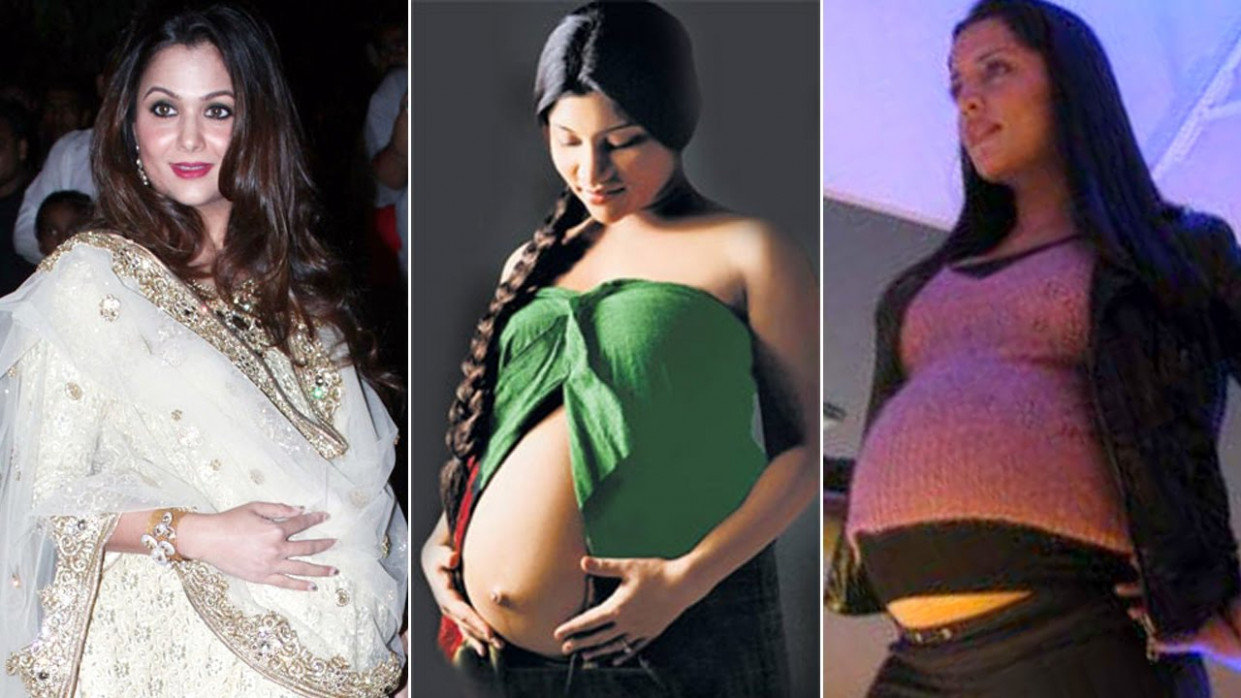 Bollywood actresses PREGNANT before MARRIAGE | Shocking ...