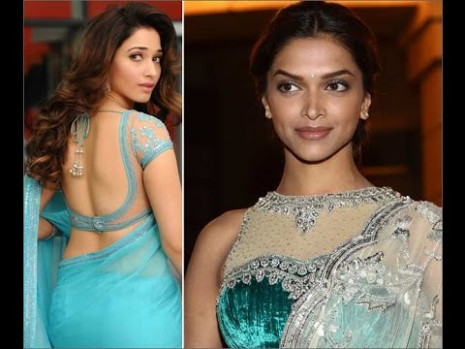 Bollywood Actresses Saree Blouse Designs Blouse patterns ...