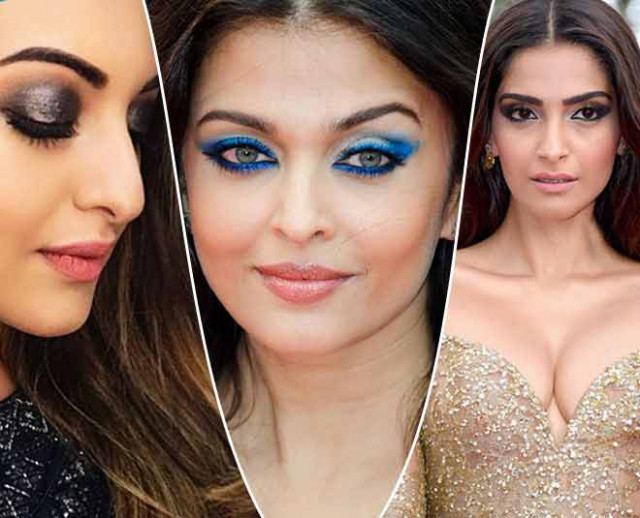 Bollywood Actresses Smokey Eye Fashion Latest Trend Beauty ...
