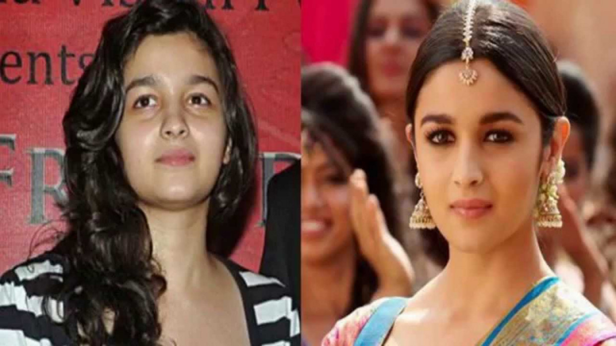 Bollywood Actresses With and Without Makeup - YouTube