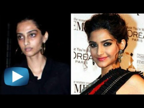 Bollywood Actresses Without Makeup - Funny Video - YouTube