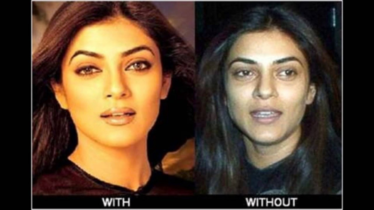 Bollywood Actresses without Makeup... - YouTube