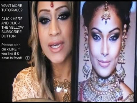 Bollywood - Bipasha Basu - inspired Makeup tutorial - YouTube