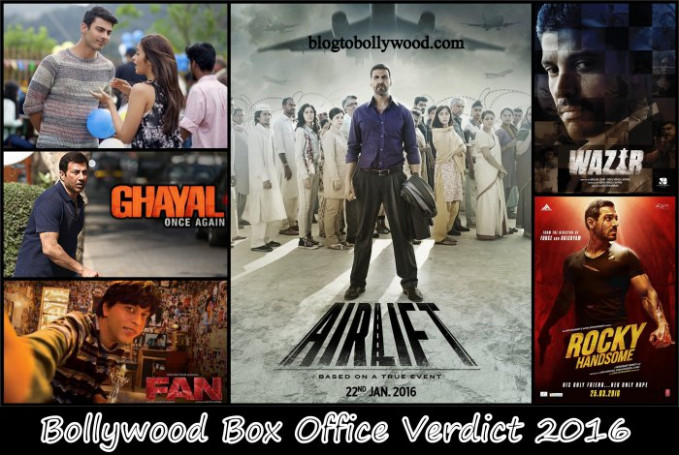 Bollywood Box Office Collection Report 2016, Verdict ...