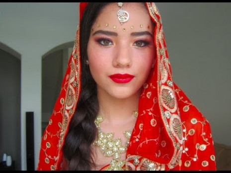 Bollywood Bridal Make-up Tutorial !!! - YouTube