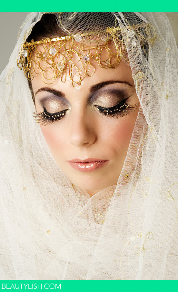 Bollywood bridal makeup | Tina B.'s Photo | Beautylish