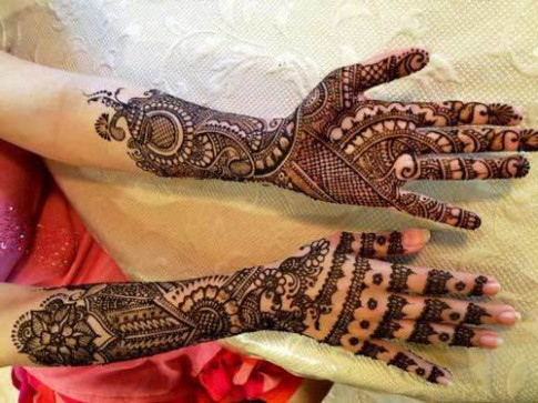 Bollywood Bridal Mehndi Designs