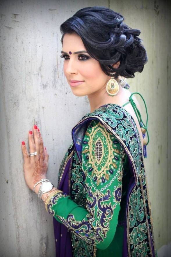 Bollywood Bride Hairstyles | Bollywood Brides | Pinterest ...