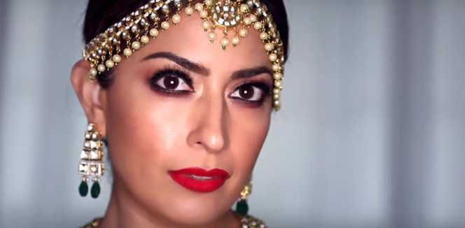 Bollywood Bride Look Tutorial by Karuna Chani Makeup ...