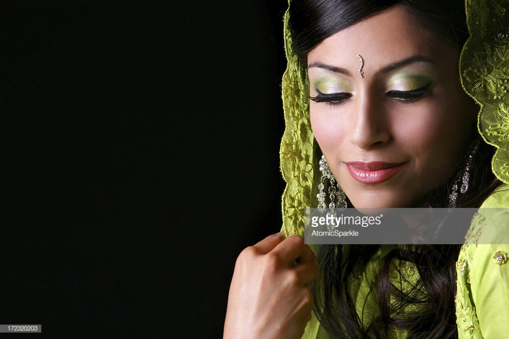 Bollywood Bride Poonam Stock Photo | Getty Images