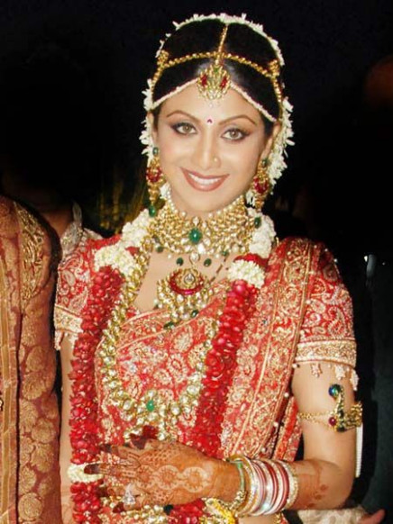 Bollywood Bride - Shilpa Shetty | Jewellery | Pinterest ...