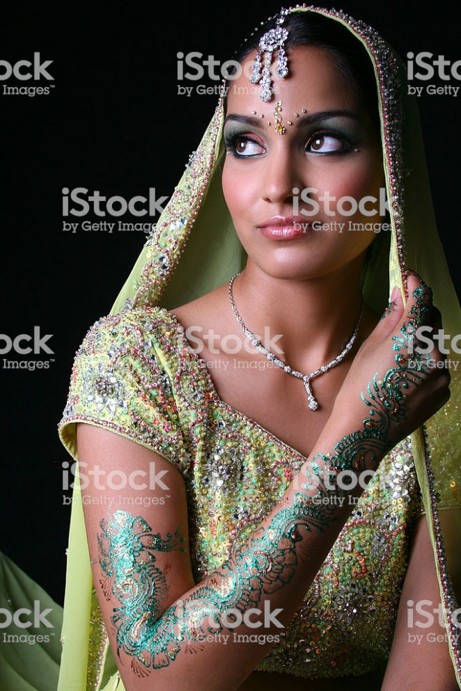 Bollywood Bride Stock Photo & More Pictures of Adult | iStock
