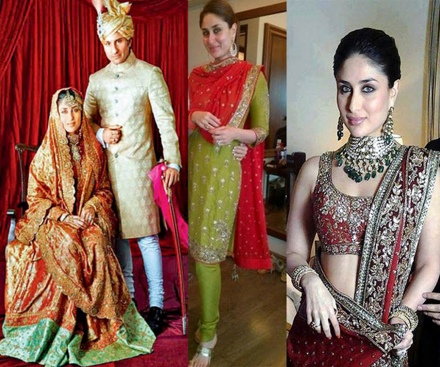 Bollywood Brides who did not wear Red on their Weddings ...