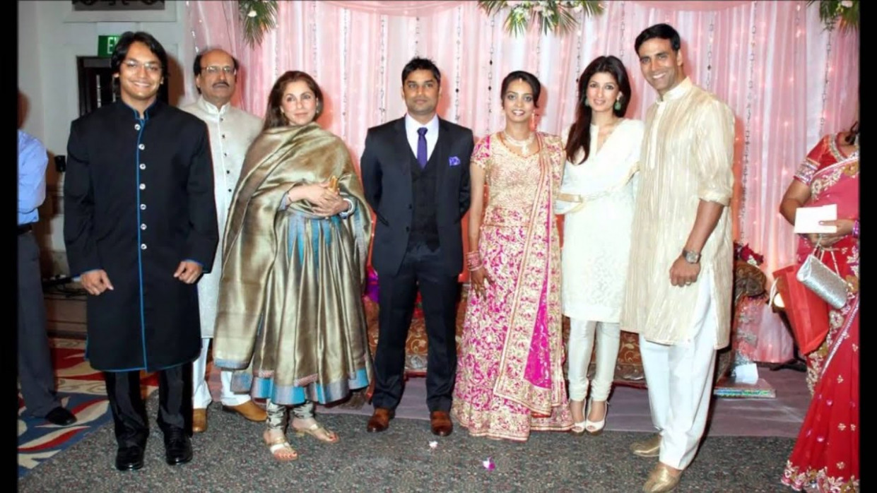 Bollywood celebrities at Agarwal daughter wedding video ..