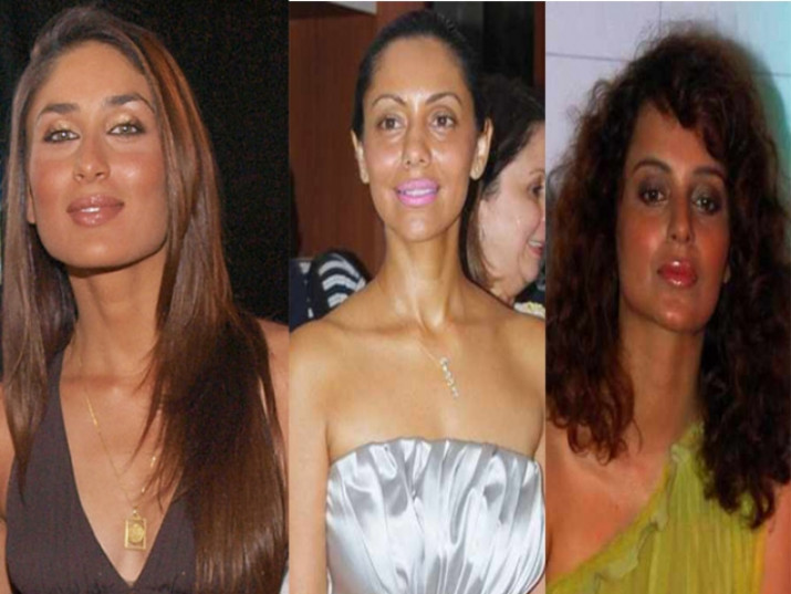 Bollywood Celebrities with most horrible makeup | With Images