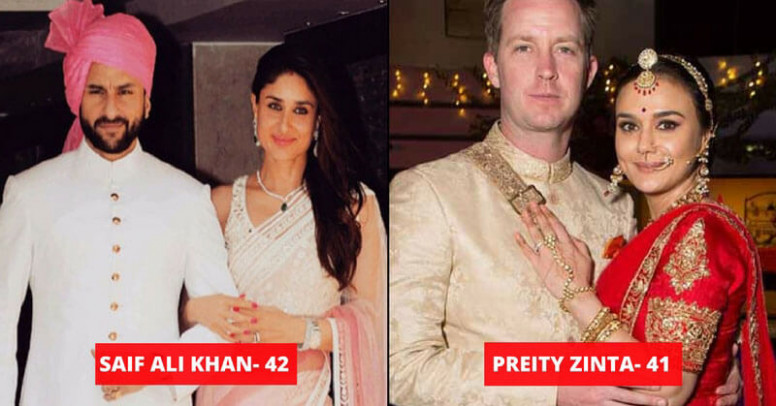 Bollywood Celebs Who Married After 40 - Must Check Couple ...