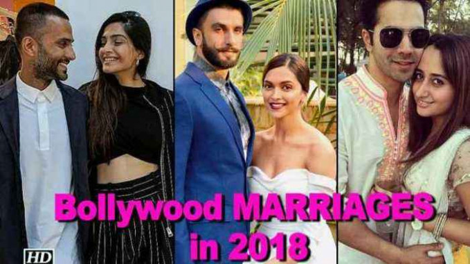 Bollywood couples getting MARRIED in 2018 - newsR VIDEO