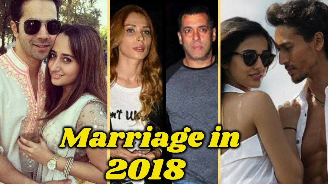 Bollywood couples to get married in 2018 - YouTube