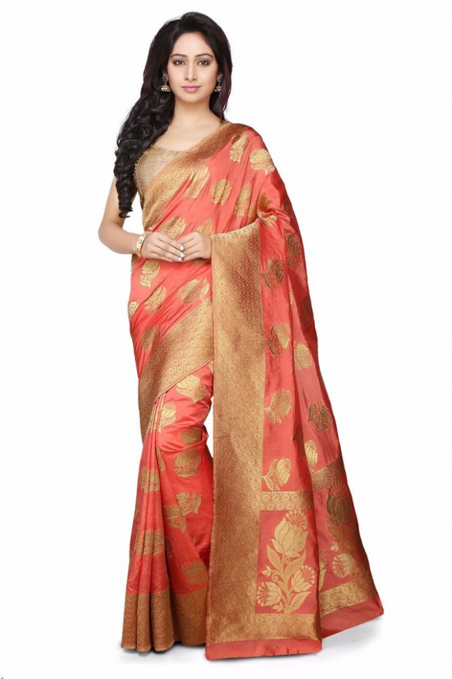 Bollywood Designer Kanjivaram Saree Indian Silk ...