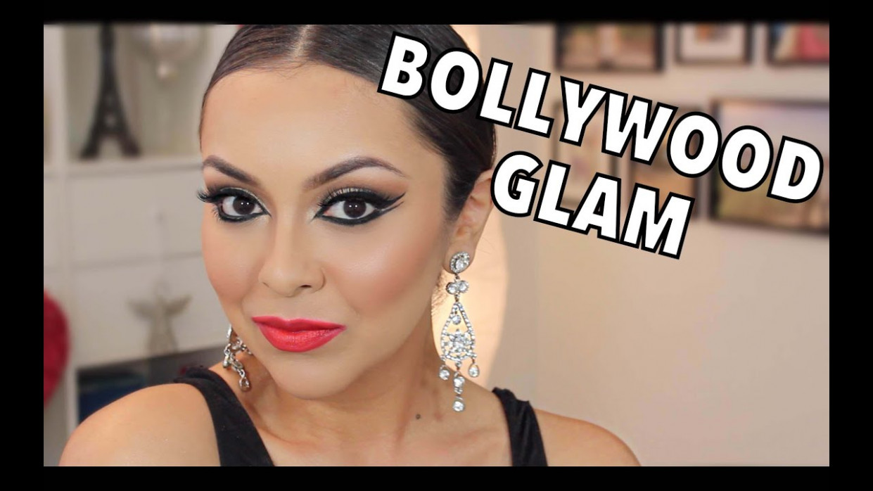 Bollywood Glam Makeup Tutorial - TrinaDuhra - YouTube