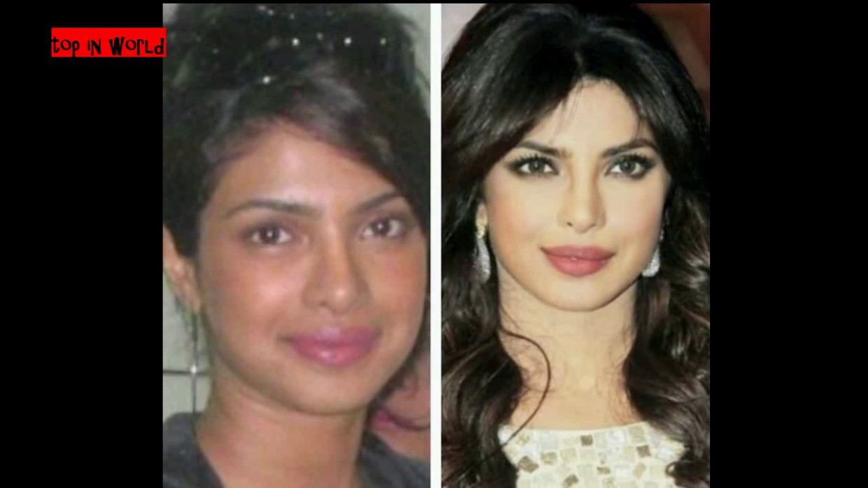 bollywood heroines without makeup looks - YouTube