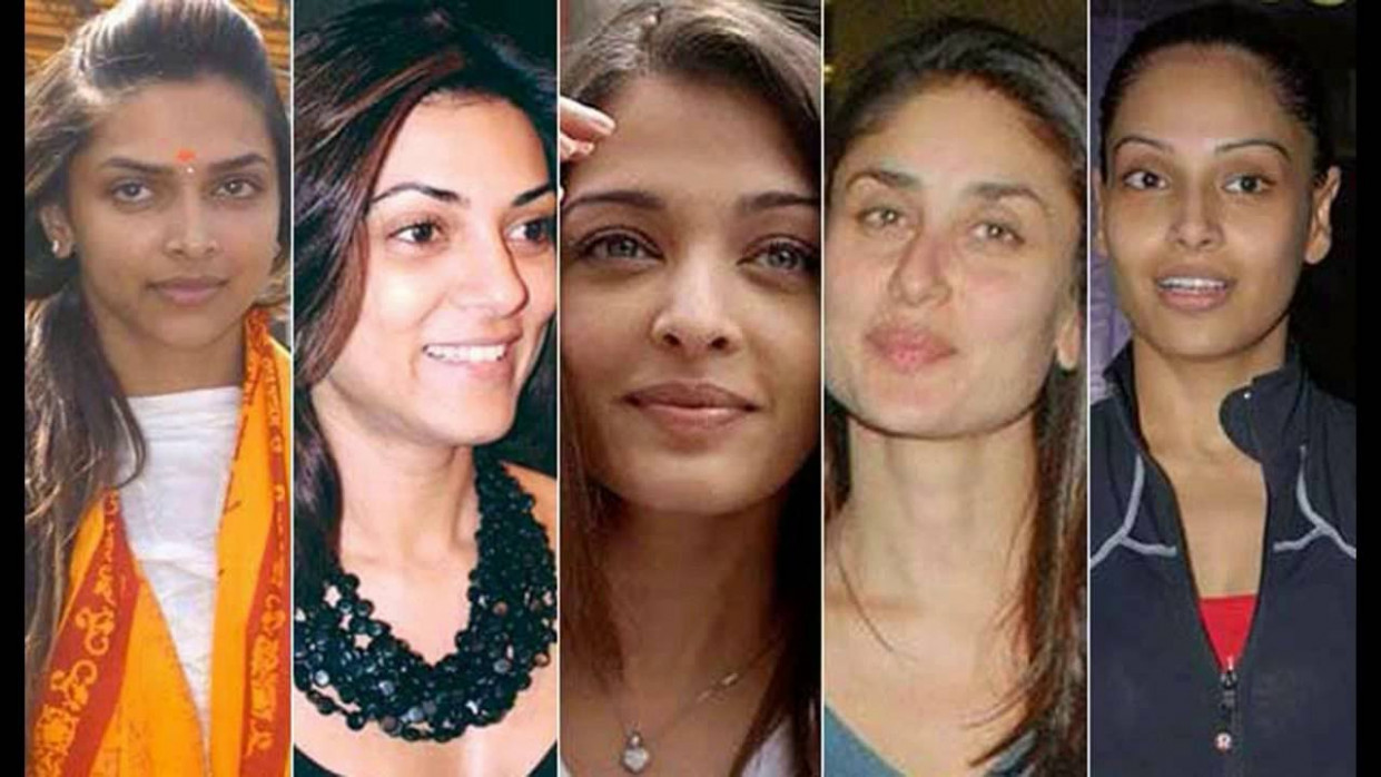 Bollywood Heroines Without Makeup photos.. - YouTube
