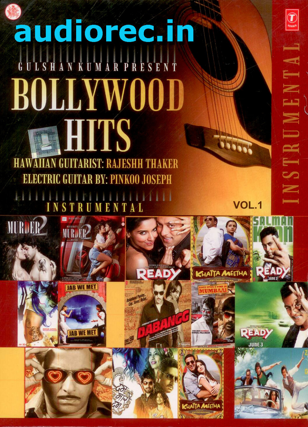 Bollywood Hits Instrumental Vol.1 CD : movie Bollywood ...