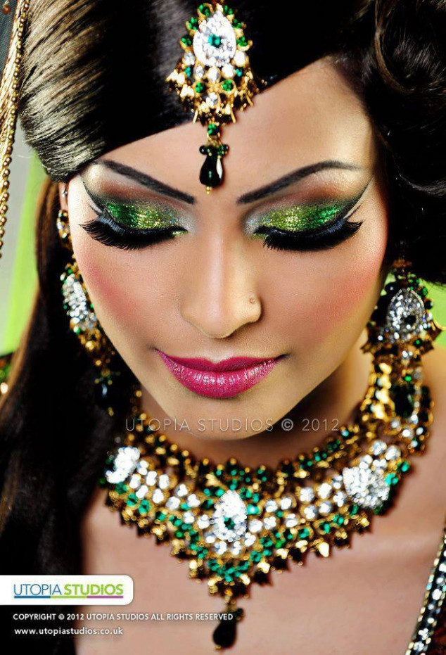 Bollywood Inspired Bridal Makeup Tutorial - Makeup Vidalondon - bollywood bridal makeup tutorial