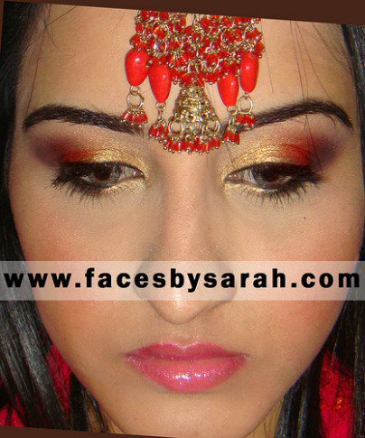 Bollywood inspired Bridal Makeup Tutorial Sarah Chaudhry