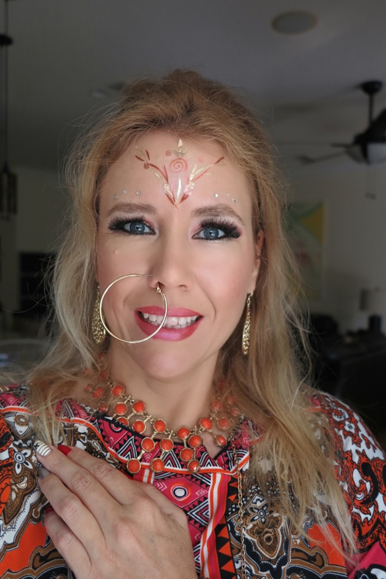 BOLLYWOOD INSPIRED MAKEUP LOOK!