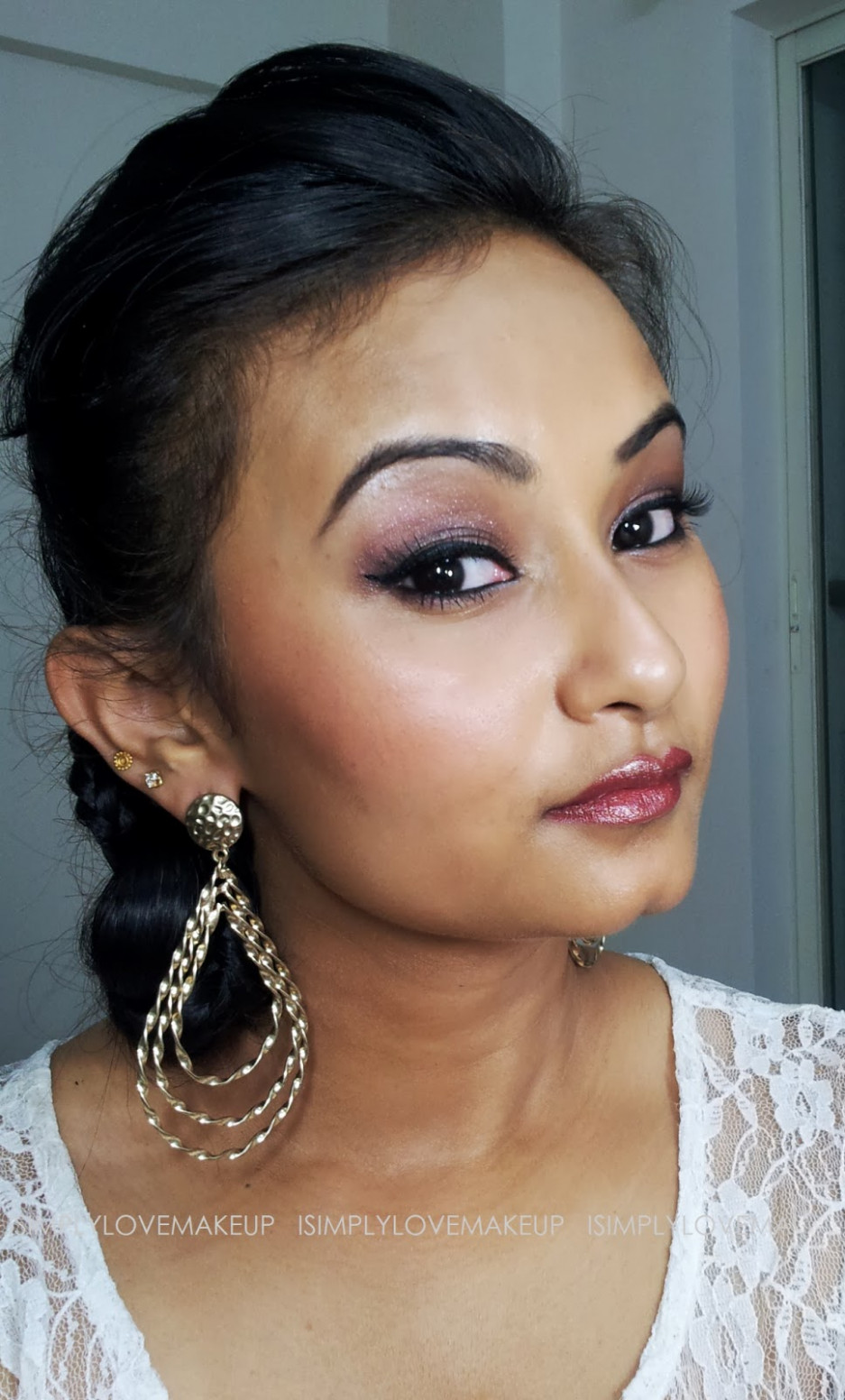 Bollywood Inspired Makeup Series (1950s): L'Or Sunset ...