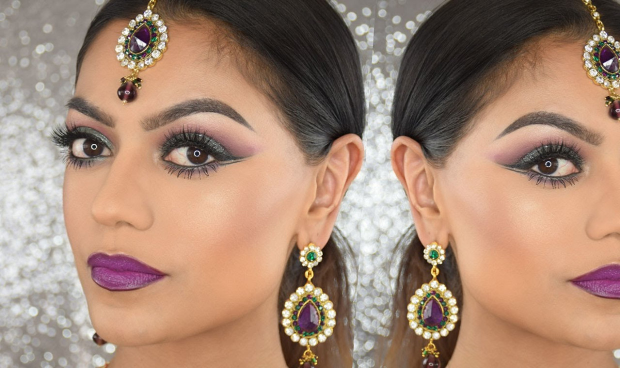 Bollywood inspired makeup tutorial | Sabrina Anijs - Lets ...
