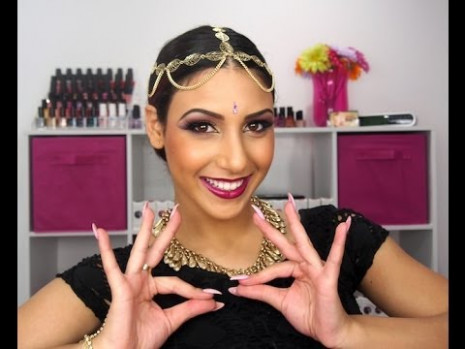 Bollywood Makeup Tutorial - YouTube