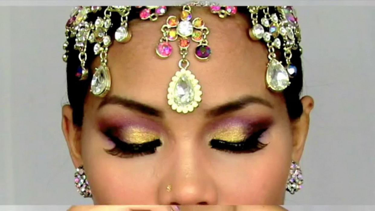 Bollywood Makeup - YouTube