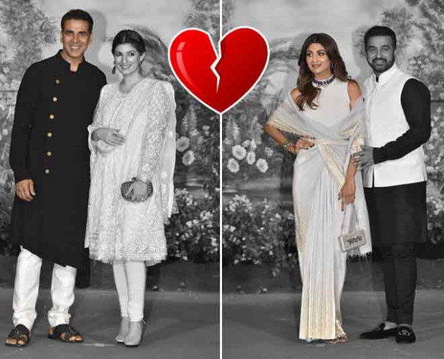 Bollywood old couples at Sonam kapoor wedding