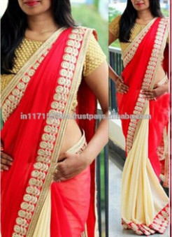 Bollywood Replica Red Designer Saree - Indian Saree Names ...