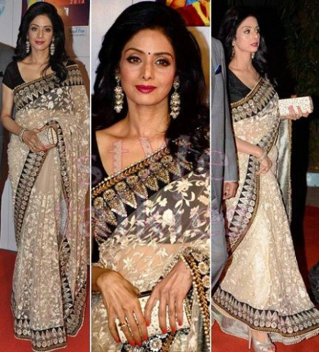 Bollywood Replica saree of sridevi-Online Shopping-4