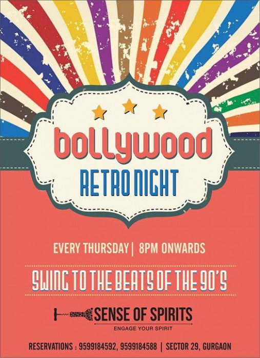Bollywood Retro Night at Delhi - Events High