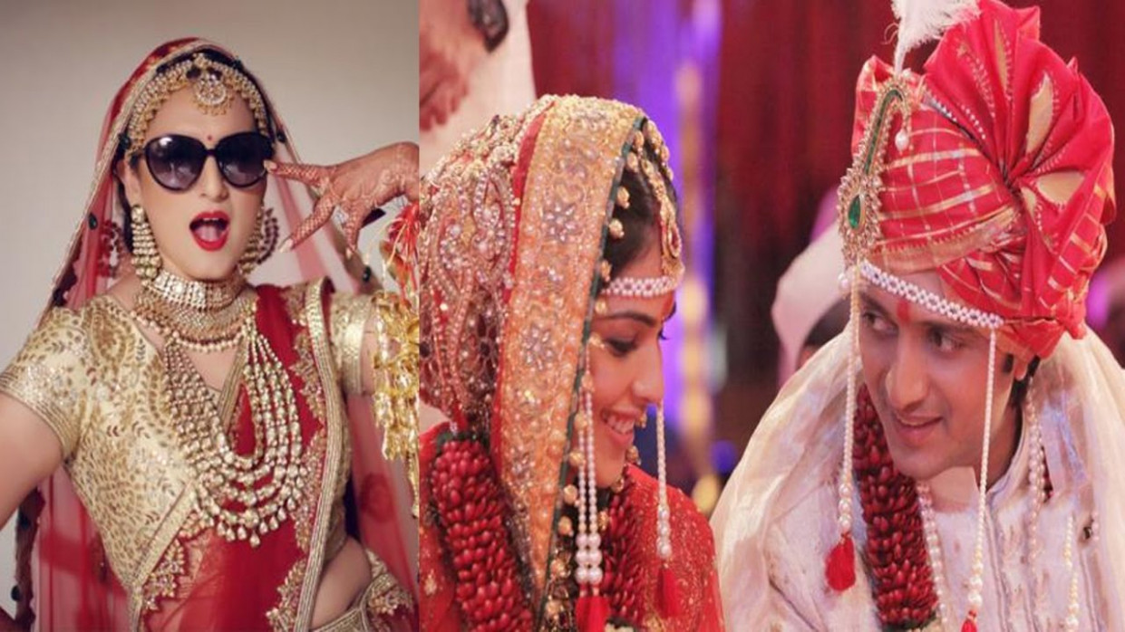 Bollywood Stars Wedding Pictures - YouTube