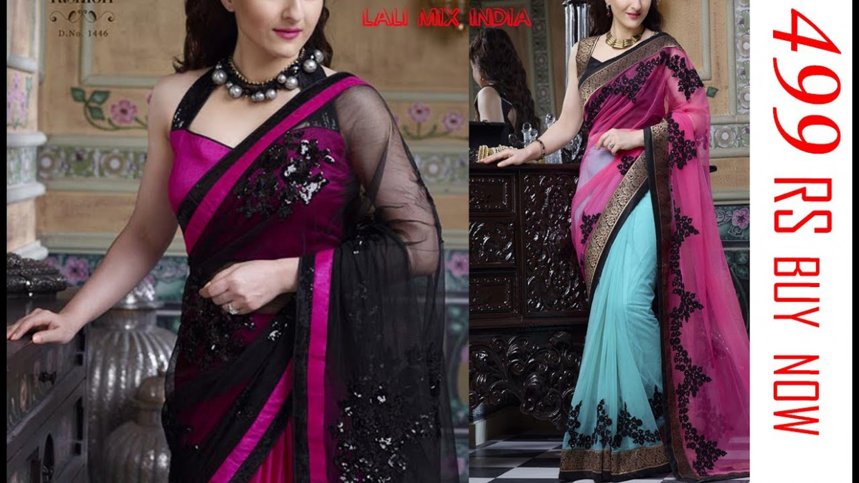 Bollywood style saree designs [REPLICA SAREE] 2017 ...