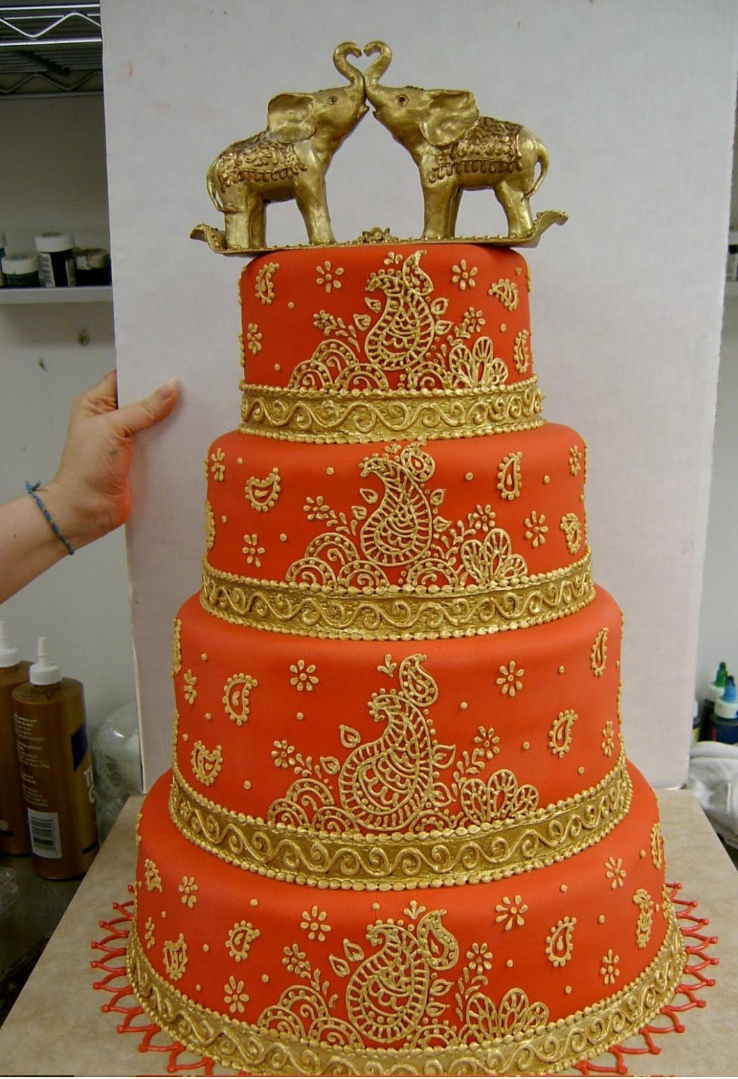 bollywood style wedding cakes - Google Search | Bake Me A ..