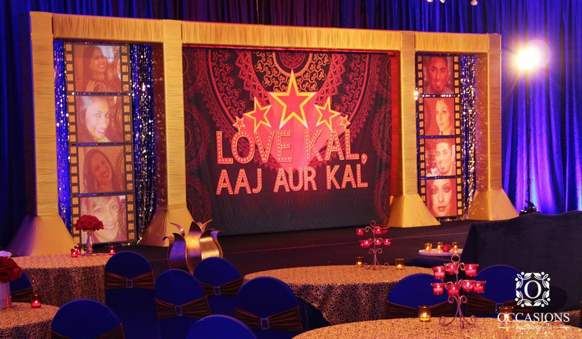 Bollywood theme stage | My collection | Pinterest ...