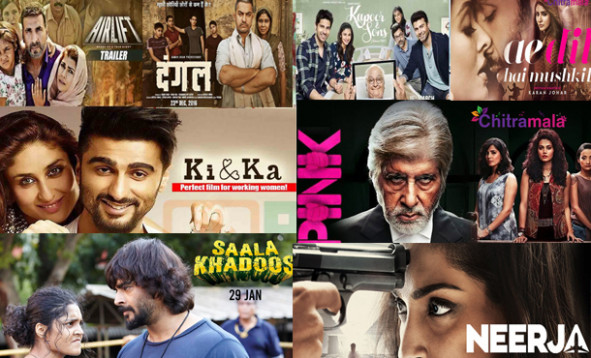 Bollywood - Top 10 Hindi Movies of 2016