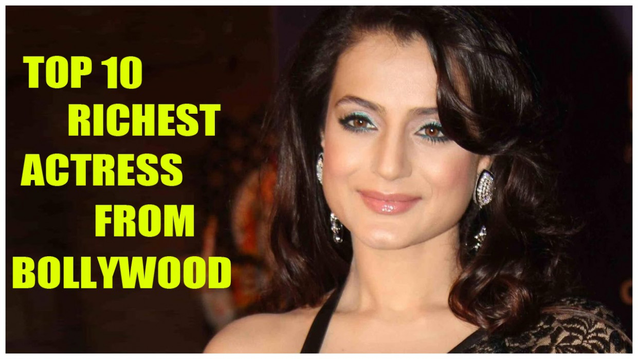 Bollywood top 10 Richest Actress || Latest Bollywood News ...