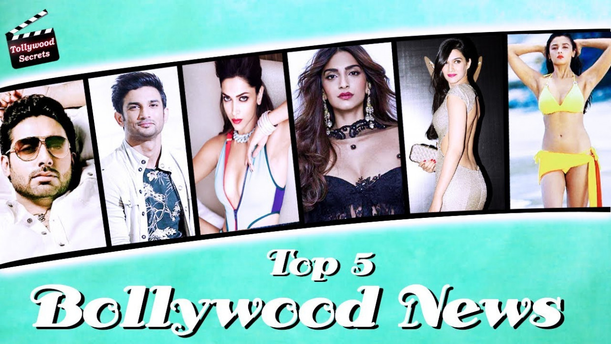 Bollywood Top 5 Entertainment News#53 in Bengali || Top 5 ...