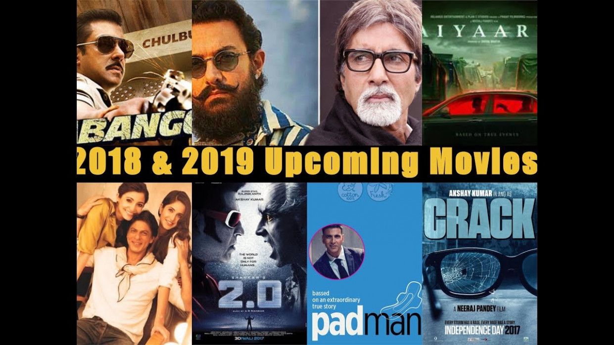 Bollywood Upcoming Movie of 2018