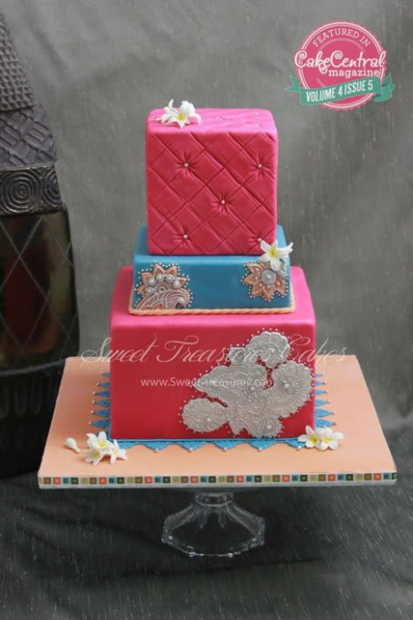 Bollywood Wedding Cake - cake by Sweet Treasures (Ann ...