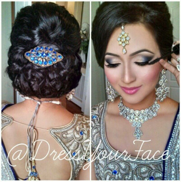 Bollywood wedding makeup | Make Over Me Make-up | Pinterest